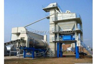 160T/H Low cost new mixing technology at low temperature asphalt mixing plant