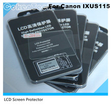 Camera Optical Tempered Glass LCD Screen Panel Film Protector 0.3mm HD Guard Waterproof Cover for Canon IXUS115