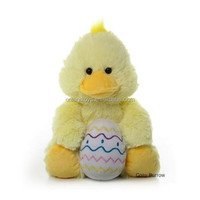 Yellow Chick/Chicken Called Soft /Easter Gift toy chicken lays eggs