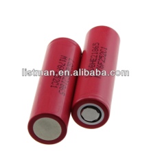 2014 Newest LG DBHE21865 2500mAh battery 3.7V/3.6V rechargeable lithium battery