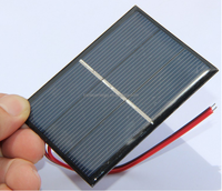 Epoxy resin PET laminated mini 0.65W 1.5V solar cells panel