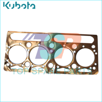 Tractor Cylinder head gasket kit copper for KUBOTA part