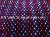 color twinkle christmas led net light