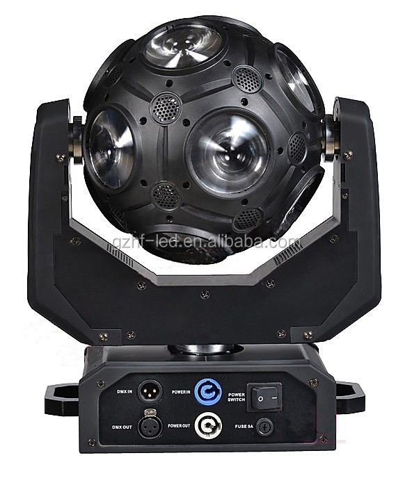 2016 Newest Led football light moving head 4in1, football beam light 12*20W, spider beam