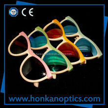 2014 New Products FDA Approval 100% Handmade ECO Bamboo Sunglasses(BB012)