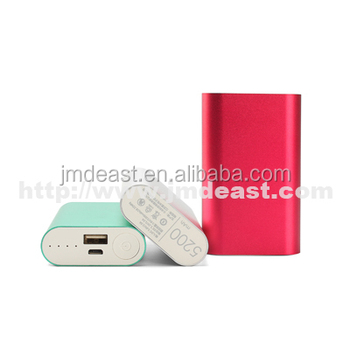 2019 mobile power supply, cheap power bank 5200mah, high quality portable battery charger in Shenzhen