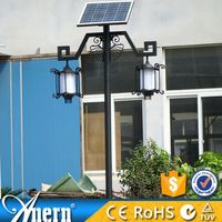 Anern Good Quality 2X5W Garden Lamp Solar With Intelligent Switch IP65