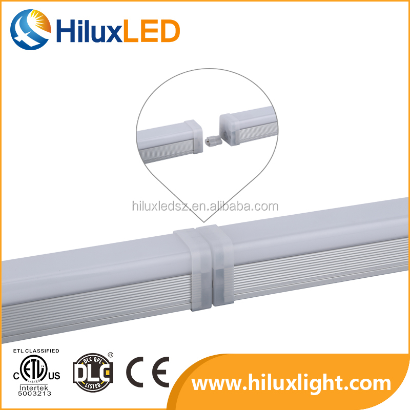 Commercial Pure White 1.5m mini linkabel Cabinet 4ft Led Tube Light Fixture For Office Working