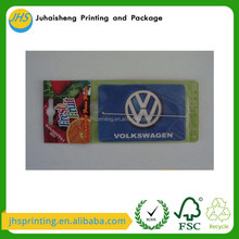 Bulk unscented blank Paper Car Air Freshener perfume Card