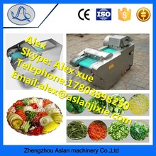 Commercial Vegetable And Fruit Shredder Machine / Leaf Vegetable Spinach Cutting Machine For Sale