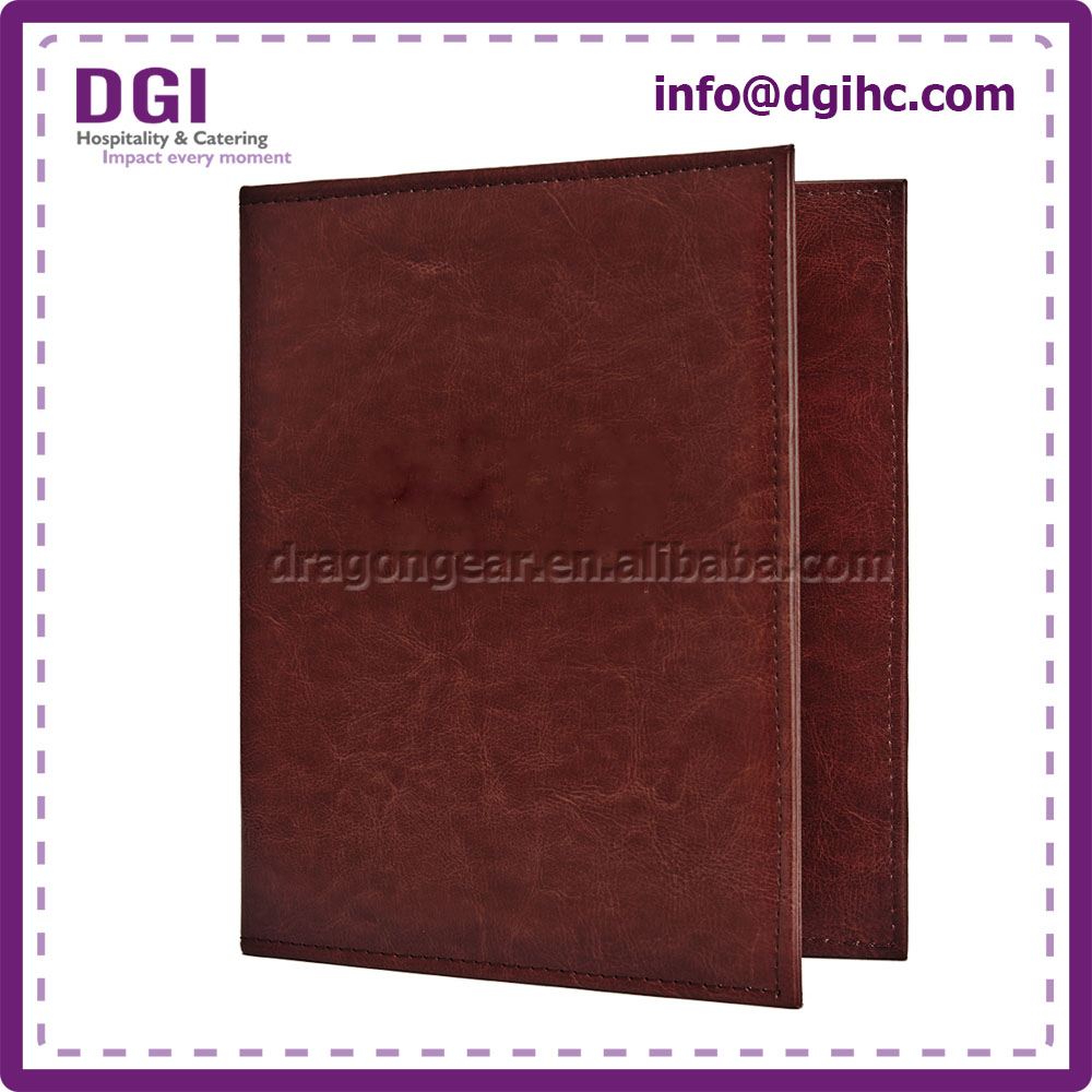 Acrylic glue non-woven fabric customized ring binders with zip around sizes