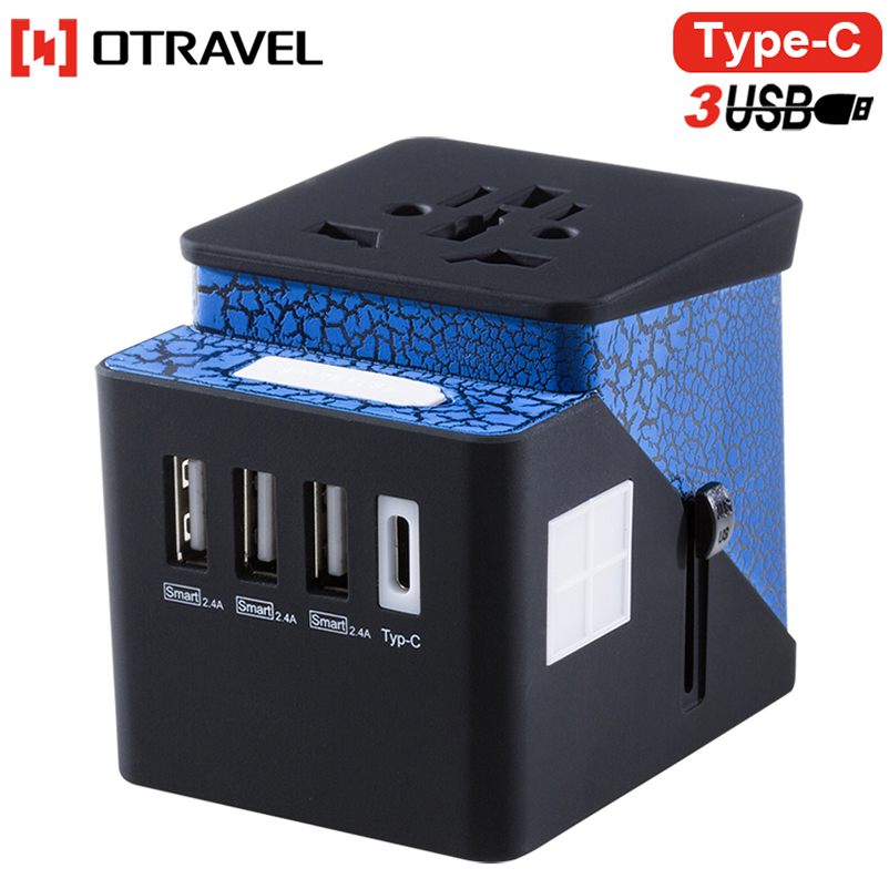 Best travelling USB C chargers world international adapter plug travel adapters with USB port for MP3/camera charging