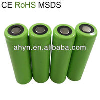 high density nimh rechargeable ni-mh battery cell AA2100 1.2V for consumer products