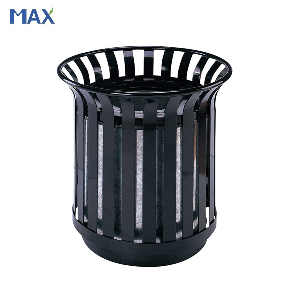 cylinder decorative trash cans waste collection bin