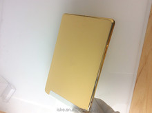 24kt gold plating back cover housing replacement for ipad mini & gold plating for ipad