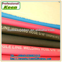 Smooth cover Rubber Air Hose fiber welding hose