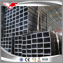 China Top manufacturer steel MS square tube size for building materials