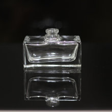 Hot sale low price luxury rectangle 30ml empty spray perfume glass bottle for man or women custome