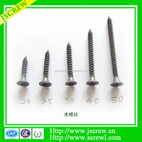 Supply steel pan head coarse thread self tapping screw m8
