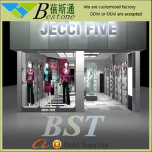 decoration clothes stores display showcase