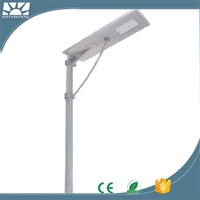 Solar powered sign Street shed lights systems for home,60w waterproof ip65 integrated all in one led solar street light price