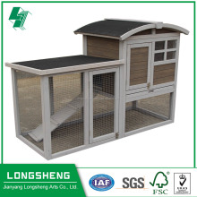 Waterproof wooden rabbit cage