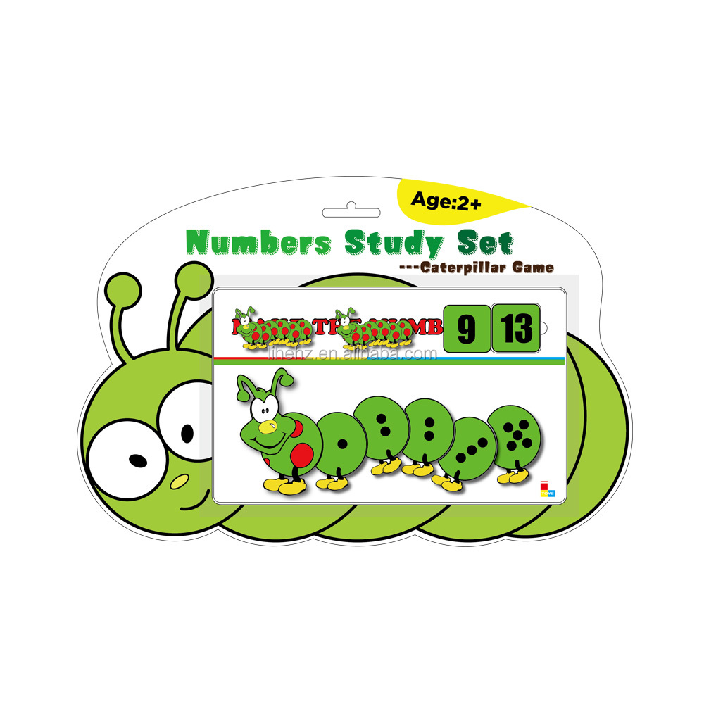 Clever Caterpillar Level I Educational Number Study <strong>Game</strong> for Kids Kindergarten gifts
