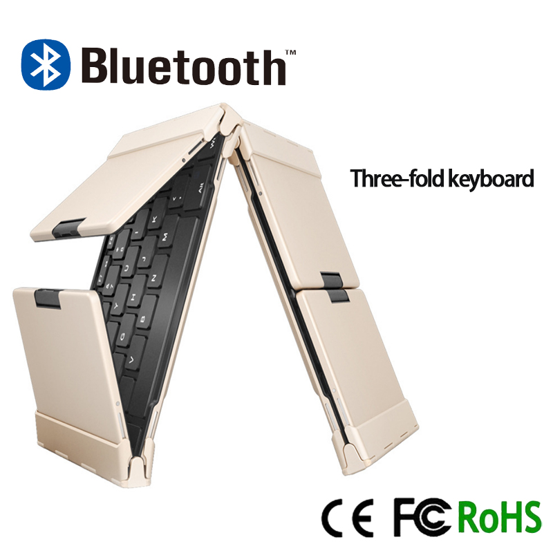 triple full-size bluetooth laptop keyboard,bluetooth keyboard for laptop