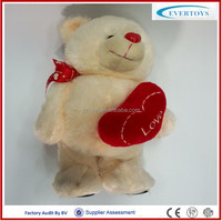 customized stuffed toys organic cotton teddy bear