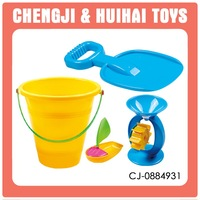 Plastic summer set sand bucket beach toys for adults