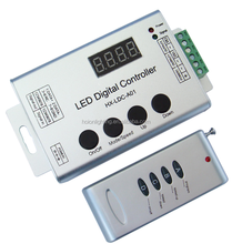 led digital controller hx-ldc-a01 ws2812b led controller ws2811 rgb led strips 5050 controller