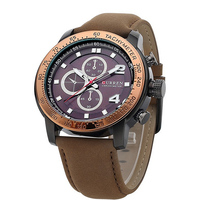CURREN Fantastic Design Men's Leather Strap High Quality Relojes Watch