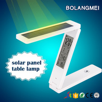 LED Table lamp with Solar Panel solar table reading lamp
