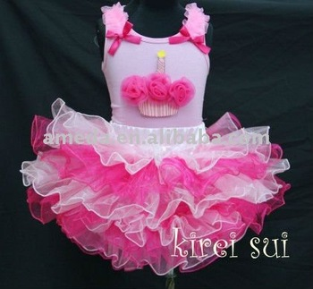 Light Hot Pink Layered Tutu 204