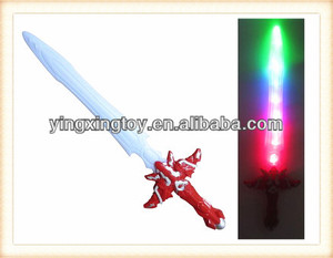 Plastic kids flashing toys light up led sword