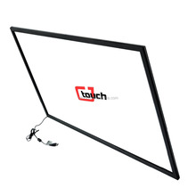TV/Monitor touch screen 50 inch Infrared touch screen, IR touch overlay with usb