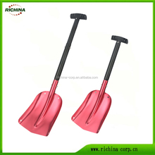 Telescopic Aluminum handle, car & truck used, Portable Emergency Snow Shovel