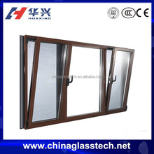 CE ceritified office&home opening customized PVC frame decorative window inserts