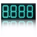 red/green 7 segment led gasoline price sign display