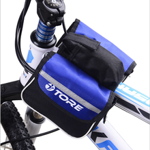 Waterproof Double Bicycle Pannier Rear Seat Bag Bike Pouch Bike Trunk Rack Bag Bycicle Back Bag