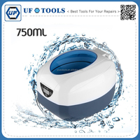 750ml Digital Display Ultrasonic Cleaner Timer Cleaning Machine Bath For Jewelry Watch Glasses