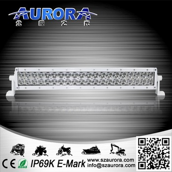 Aurora 10inch 100W dual row combination beam light offroad car