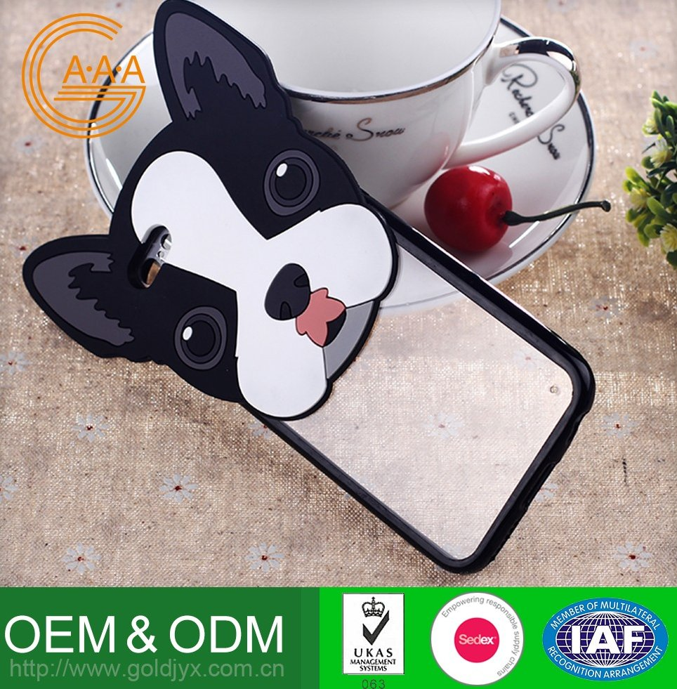 fashion silicone cartoon universal phone case