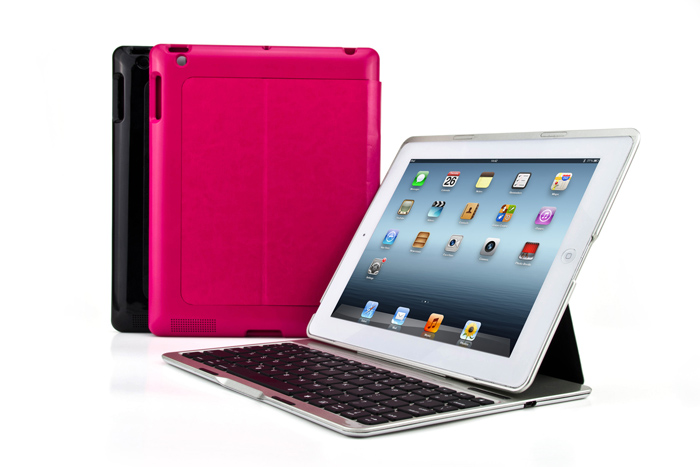 2016 Factory OEM Premium Bluetooth keyboard Case for ipad 234
