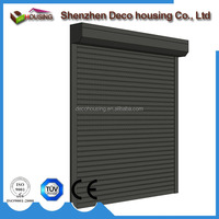 Typhoon security CE aluminum electric roller shutter