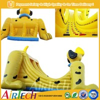 top selling durable inflatable dog slide for kids