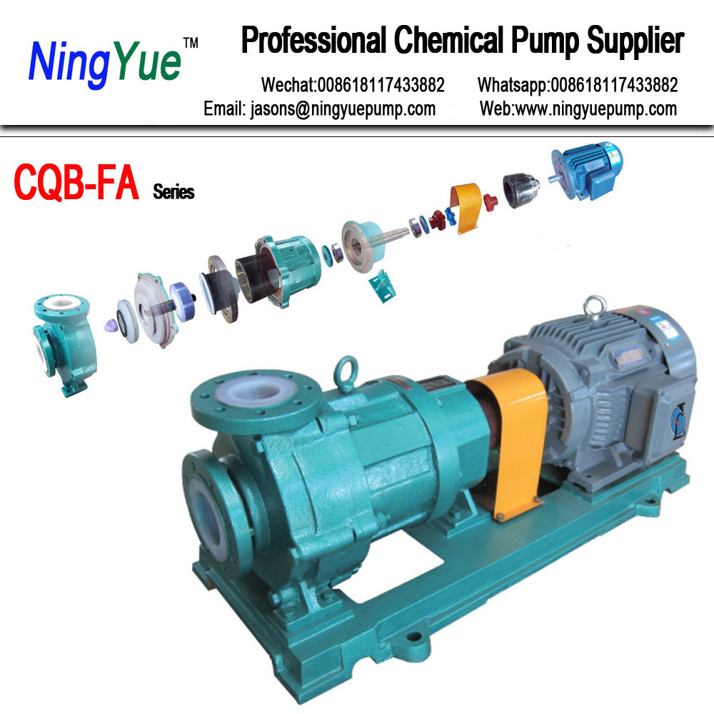 China Good Self-Priming Centrifugal Pump For Nitric Salt