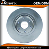 40206-ZC60A brake disc plate fits for japanes car