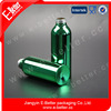 small mouth aluminum bottle for powder with screw thread