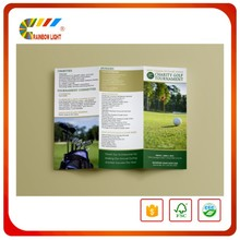 Good quality custom commercial digital colorful flyer/poster printing
